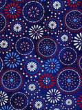 Patriotic Circles Backdrop - 2391 - Backdrop Outlet