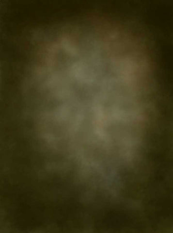 2528 Printed Old Masters Olive Brown Backdrop - Backdrop Outlet