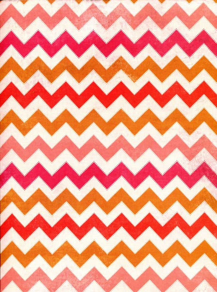 2630 Shades of Orange Chevron Backdrop - Backdrop Outlet