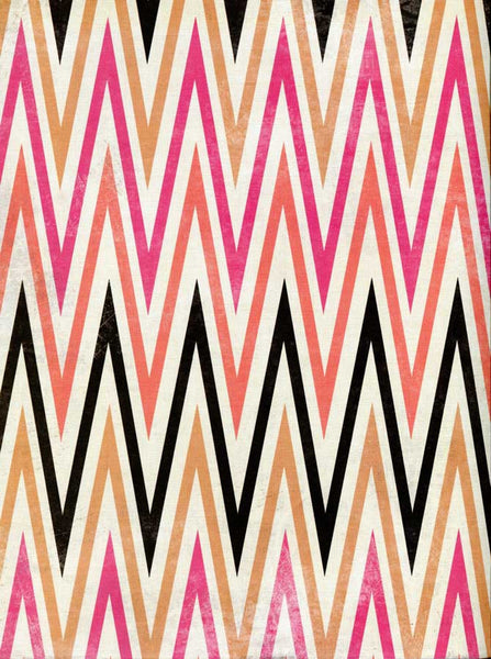 2644 Pink Gold Chevron Backdrop - Backdrop Outlet