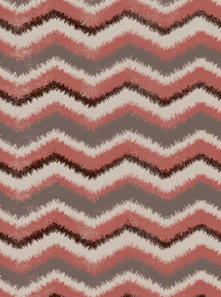 Zig Zag Chevron Tan Orange Backdrop - 2694 - Backdrop Outlet