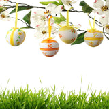 2709 Easter Hanging Eggs Backdrop - Backdrop Outlet