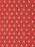 Red Christmas Trees Backdrop - 3121 - Backdrop Outlet