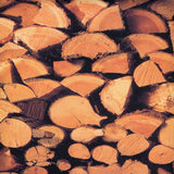 Printed Backdrop Wood Logs Background - 3198 - Backdrop Outlet