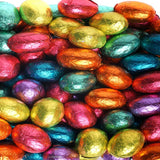 Easter Colorful Foil Eggs Backdrop - 320 - Backdrop Outlet