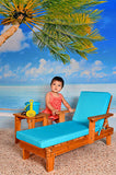 3501 Printed Soft Sand Beach Backdrop