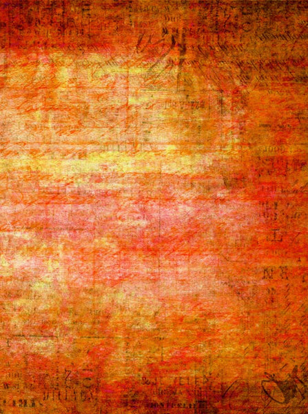 Abstract Orange Red Backdrop - 4117 - Backdrop Outlet