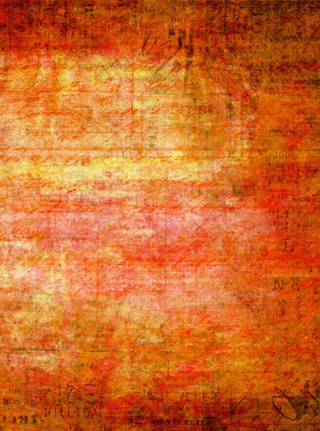 4117 Abstract Orange Red Backdrop - Backdrop Outlet