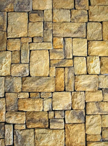 Tan Stone Tiled Backdrop - 4124 - Backdrop Outlet
