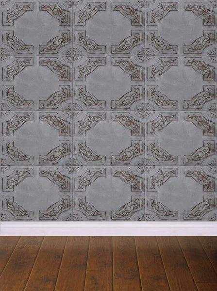 Green Tile Wall Backdrop - 414 - Backdrop Outlet