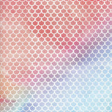 Printed Hive Pattern Rainbow Backdrop - 425 - Backdrop Outlet
