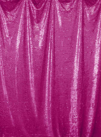 4602 Printed Sequin Fushia Backdrop - Backdrop Outlet