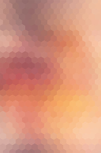 4631 Geometric Gradient Orange Red Backdrop - Backdrop Outlet
