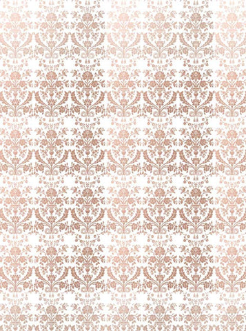 4638 Victorian Pattern Bronze Photo Backdrop - Backdrop Outlet