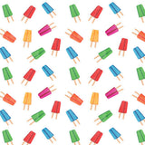 Colorful Popsicle Pattern Backdrop - 4643 - Backdrop Outlet
