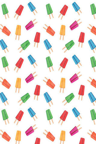 4643 Colorful Popsicle Pattern Backdrop