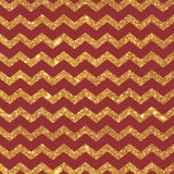 Bold Red Gold Chevron - 5321 - Backdrop Outlet