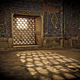 602 Moroccan Window Photo Backdrop - Backdrop Outlet