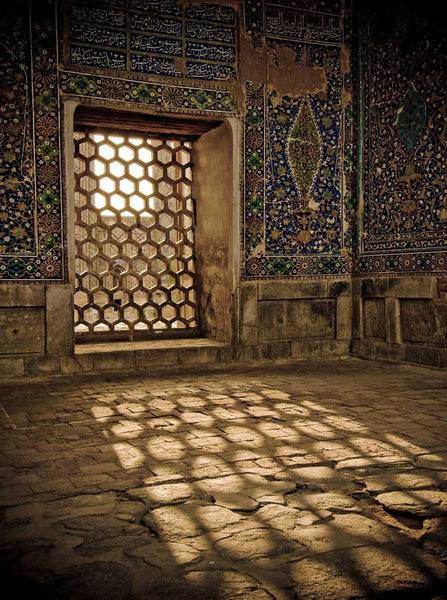 Moroccan Window Photo Backdrop 602 Backdrop Outlet