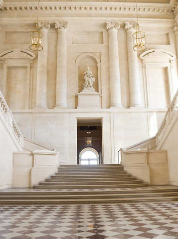 Grand Staircase Entrance Backdrop - 607 - Backdrop Outlet