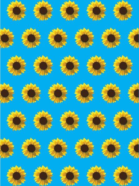 Yellow Daisy Pattern Backdrop - 6130 - Backdrop Outlet