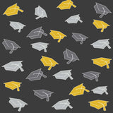 6131 Graduation Hat Toss Backdrop - Backdrop Outlet