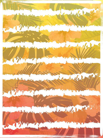 6140 Palm Leaves Ombre Grunge Backdrop - Backdrop Outlet