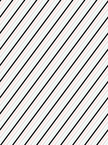 6167 Black And Pastel Diagonal Stripes Printed Backdrop - Backdrop Outlet