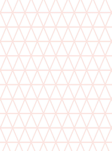 6168 Pink Triangle Pattern Printed Backdrop - Backdrop Outlet