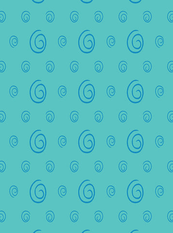 6186 Various Round Spiral Printed Backdrop - Backdrop Outlet