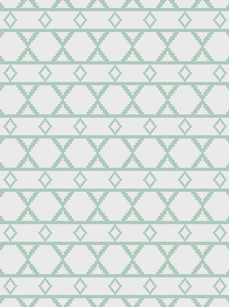 6189 Green And Grey Diamond Pattern Printed Photography Backdrop - Backdrop Outlet