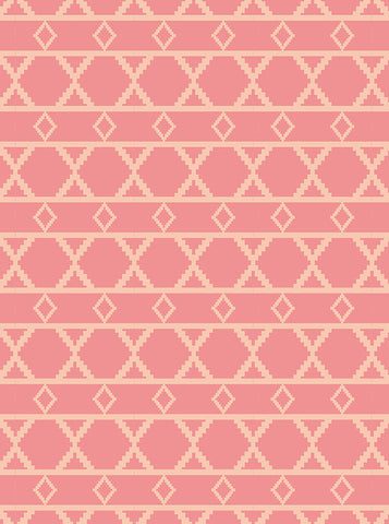 6190 Dusty Rose Diamond Pattern Printed Photography Backdrop - Backdrop Outlet