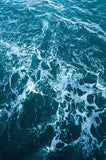 6257 Deep Blue Rough Ocean Water Backdrop
