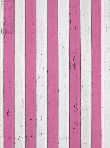 6267 Pink and White Valentine Wood Backdrop - Backdrop Outlet