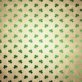 6285 Shiny Green Clover Grunge Patterned Irish Backdrop - Backdrop Outlet