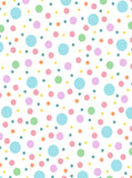 6297 Easter Polka Dot Pastel Color Backdrop
