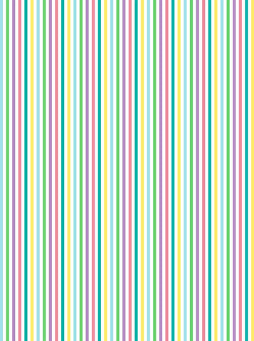 6298 Easter Pastel Color Stripes Backdrop - Backdrop Outlet