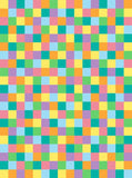 6300 Easter Geometric Square Pattern Backdrop