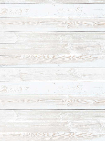 White Grunge Wood Floor Backdrop - 6313 - Backdrop Outlet
