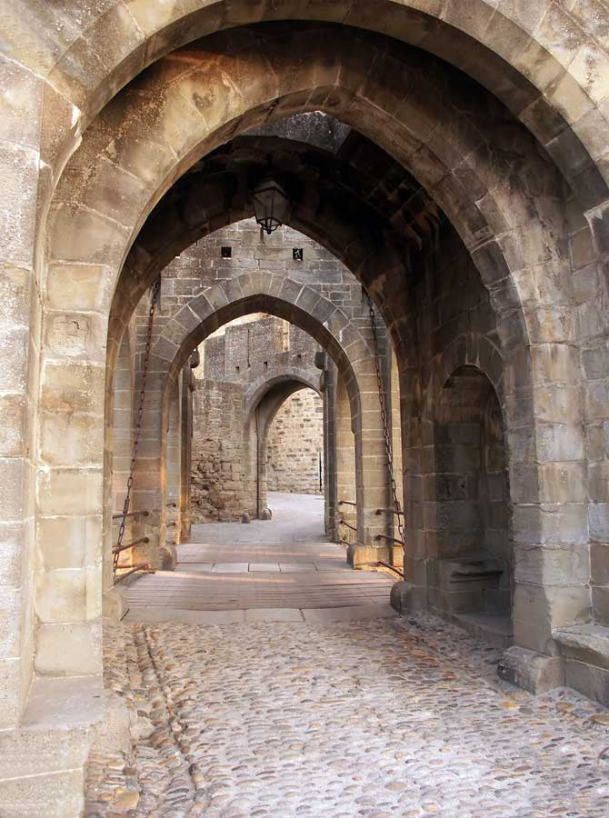 Architecture Stone Alley Path Archway Backdrop - 6317 ...