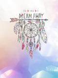 Colorful Bokeh Dream Catcher Design Printed Backdrop - 6380 - Backdrop Outlet