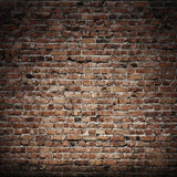 Retro Brick Backdrop Without Floor (With Floor Use Style x047) - 6632 - Backdrop Outlet