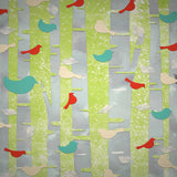 Birds on Trees Backdrop - 6711 - Backdrop Outlet