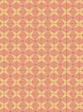 6763 Coral and Yellow Geometric Printed Backdrop - Backdrop Outlet