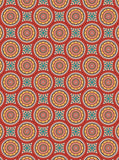 6772 Sunflower Orange Ethnic Illustration Printed Backdrop - Backdrop Outlet