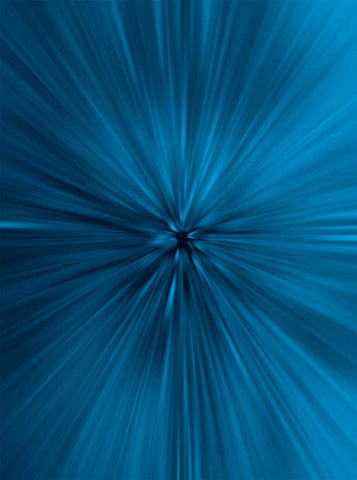 6779  Abstract Radial Burst Ocean Blue Hue Backdrop - Backdrop Outlet