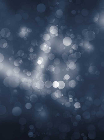 6803 Midnight Blue Streaks Bokeh Backdrop - Backdrop Outlet