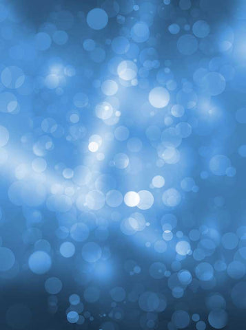 Ocean Blue Streaks Bokeh Backdrop - 6807 - Backdrop Outlet