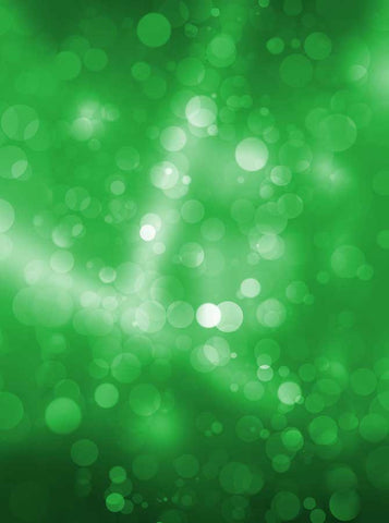 6810 Green Streaks Bokeh Backdrop - Backdrop Outlet