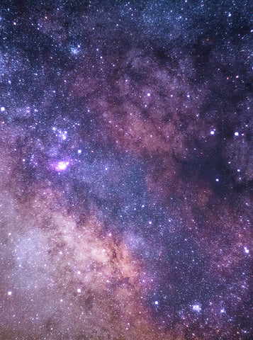 Printed Purple and Pink Galaxy Sky Backdrop - 6837 - Backdrop Outlet